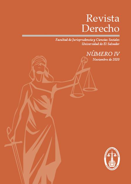 Ver Revista Derecho No. IV, noviembre 2020
