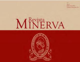 Ver Revista Minerva vol. 1 no. 1. Octubre - Diciembre 2017