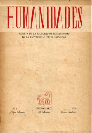 Ver Núm. 3 (1958): enero - marzo