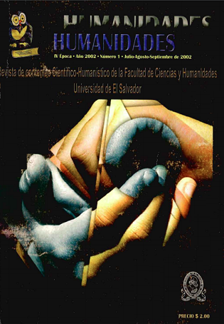 Ver Núm. 1 (2002): IV época, julio - septiembre