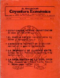 Ver Año III no. 21 y no. 22 Julio-octubre 1988