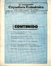 Ver Año I no. 8 y no. 9 Junio-Julio  1986