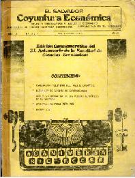 Ver Año I no. 6 y no. 7 Abril-mayo  1986